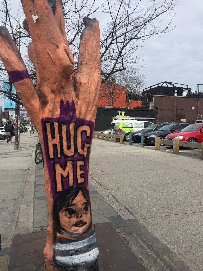 Grafite na West Queen West, um passeio em Toronto