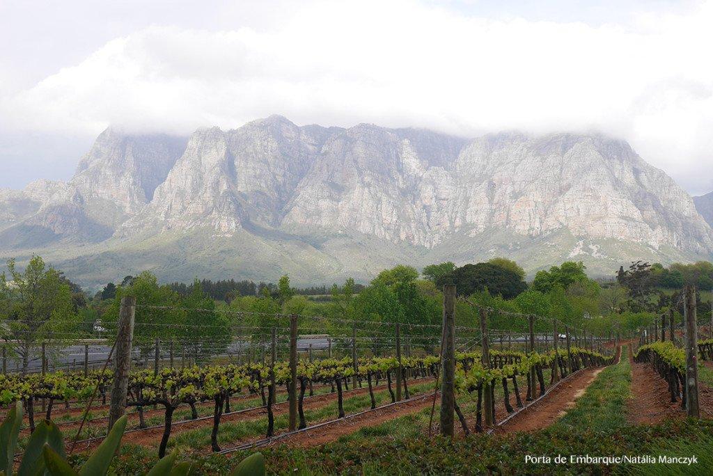 Vinicola Delaire Graff, em Stellenbosch, perto de Cape Town