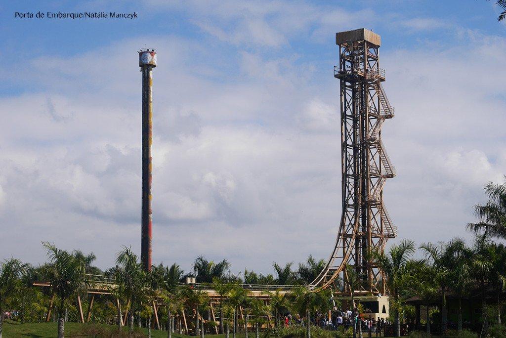 Torre do Terror, brinquedo do Beto Carrero World