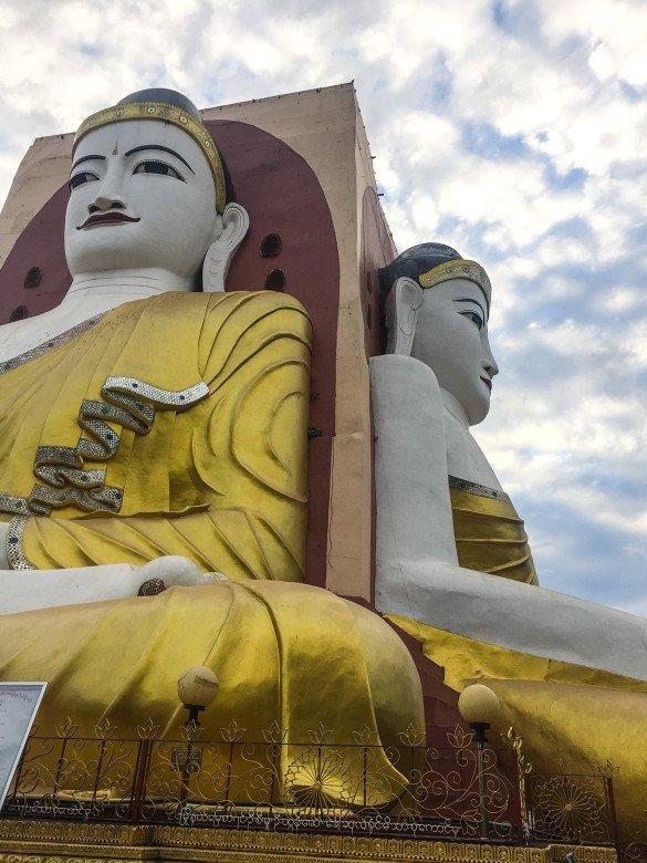 Bago42 1 585x780 - Como chegar na pedra dourada de Myanmar