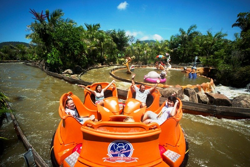 Crazy River, brinquedo do Beto Carrero World