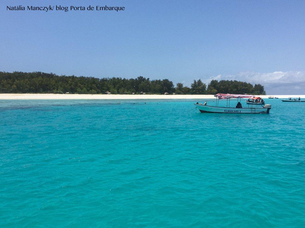 A paraia de Kendwa, a mais animada de Zanzibar