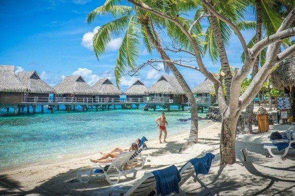 bora bora 701862 1280 e1488769922494 585x390 - Turismo do Tahiti seleciona casais para viajar de graça