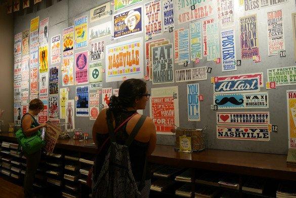 Hatch Show Print Nashville04 585x391 - O que fazer em Nashville, a cidade do country