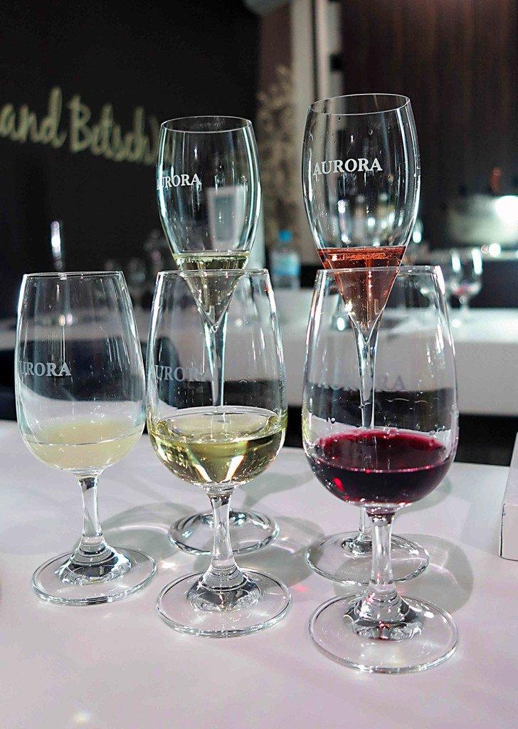 Degustação de espumantes e vinhos navinícola Aurora, na Serra Gaúcha