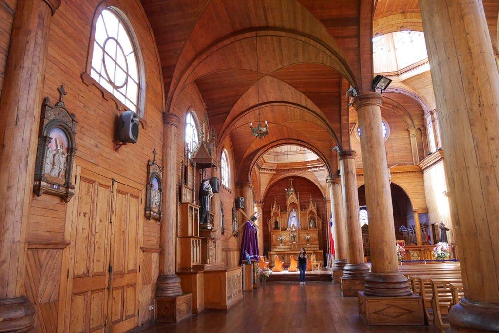 Chiloe Igreja de madeira