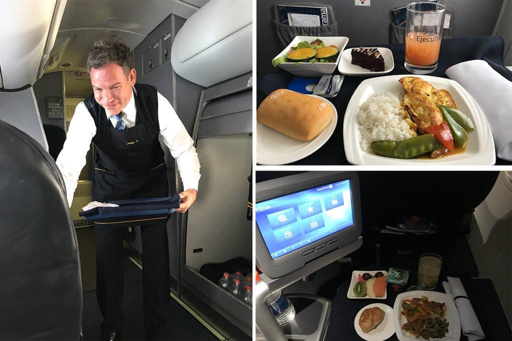 Copa Airlines_Executiva_comida