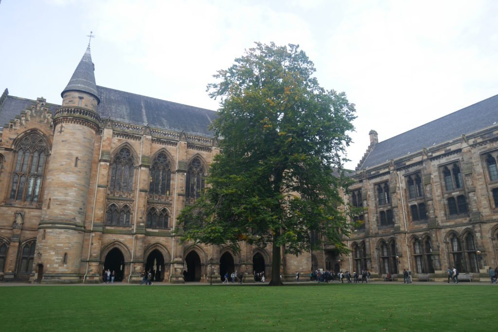Universidade de Glasgow_uma das coisas para fazer em Glasgow