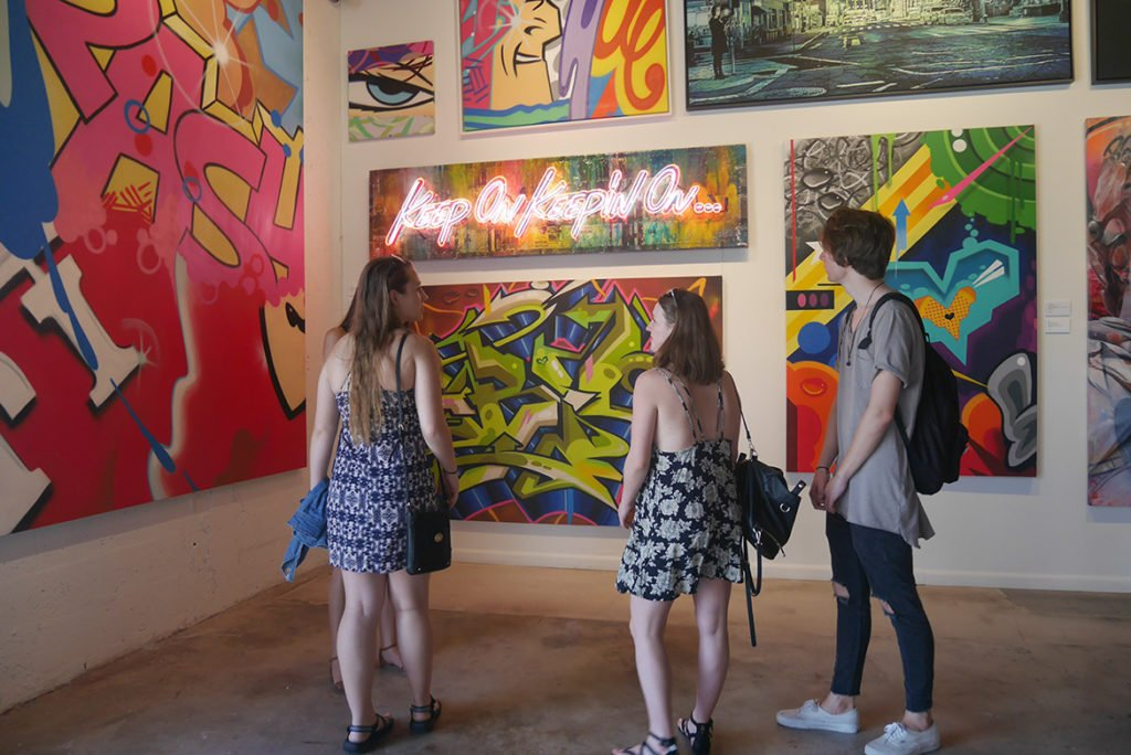 Galeria de arte de Wynwood Art District