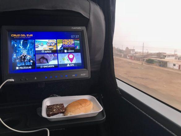 Viagem para Paracas Onibus4 585x439 - Dicas para a sua viagem para Paracas, no Peru