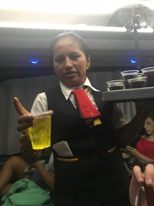 Viagem para Paracas Onibus7 585x780 - Dicas para a sua viagem para Paracas, no Peru