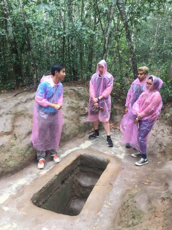OO que fazer em Ho Chi Minh: túneis de Cu Chi