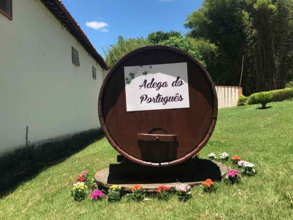 Rota da uva de Jundiaí Adega do Portugues 3 585x439 - Rota da uva de Jundiaí: para provar muito vinho perto de São Paulo