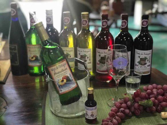 Rota da uva de Jundiaí Adega do Portugues 4 585x439 - Rota da uva de Jundiaí: para provar muito vinho perto de São Paulo