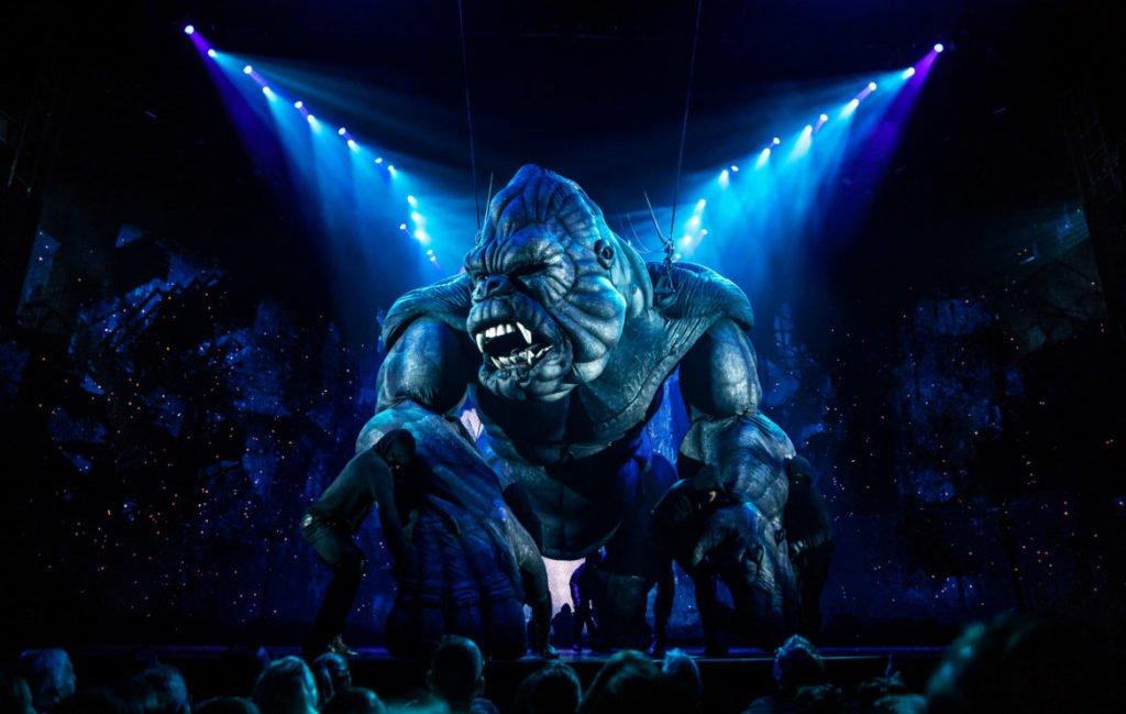 King Kong na Broadway: o gorila gigante na frente da plateia