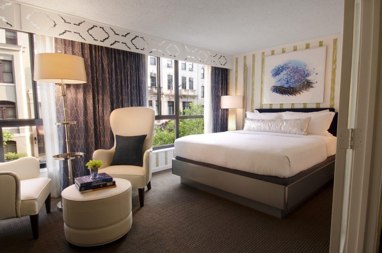 Quarto Serenity do Kimpton Topaz, hotel em Washington DC