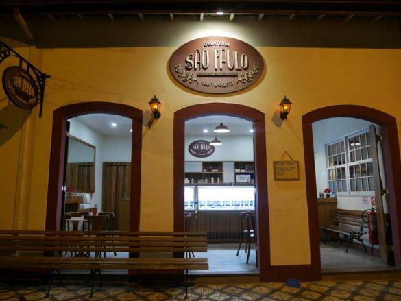 Sorveteria Sao Paulo um dos melhores restaurantes em Ubatuba