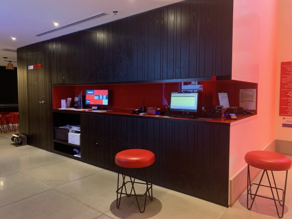 Lobby do Radisson RED Campinas