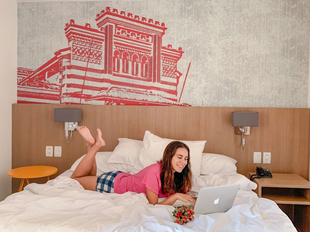 Quarto do Radisson Red Campinas