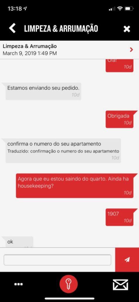 app do Radisson Red Campinas