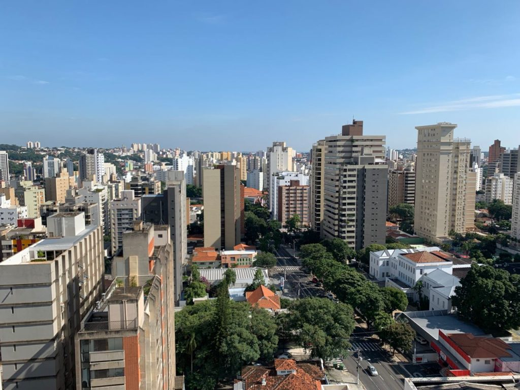 Vista do quarto do Radisson Red Campinas