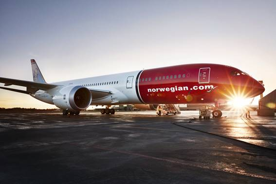 Nowwegian-voo low cost do Rio a Londres