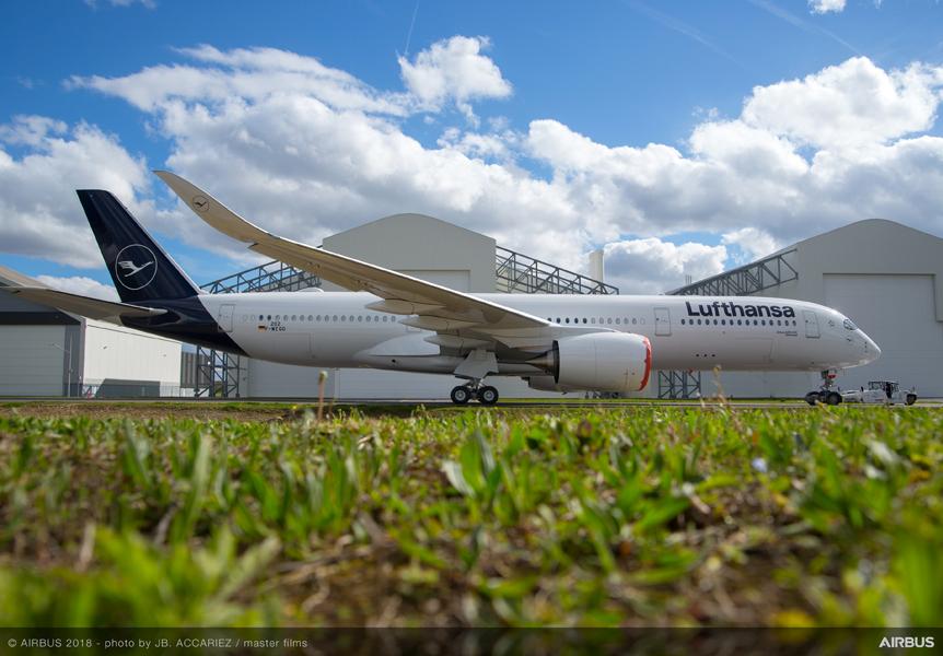 voo sSao Paulo - Munique com o A350-900