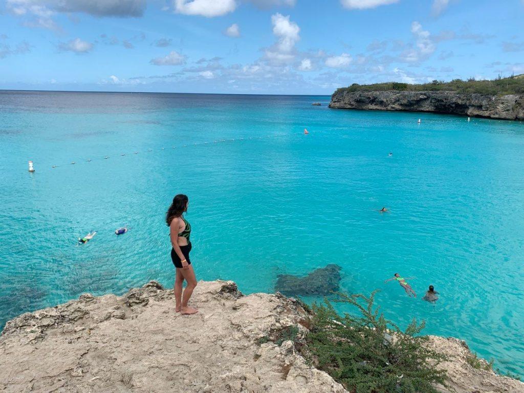 a praia de Kenepa Beach_O que fazer em Curacao