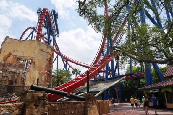 Montanha-russa do Busch Gardens