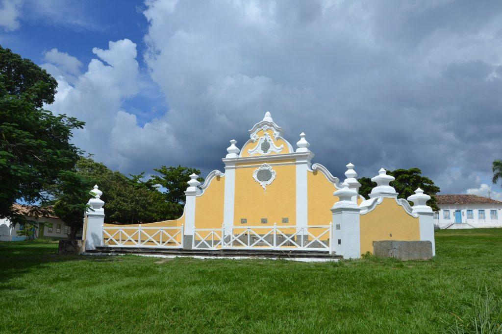 O chafariz da Cidade de Goiás