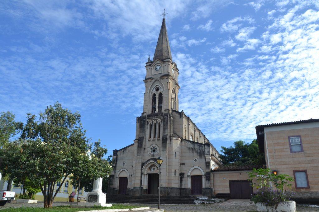 A Igreja do Rosario, em Cidade de Goias