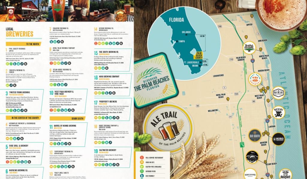 Guia de cervejarias em Plam Beaches