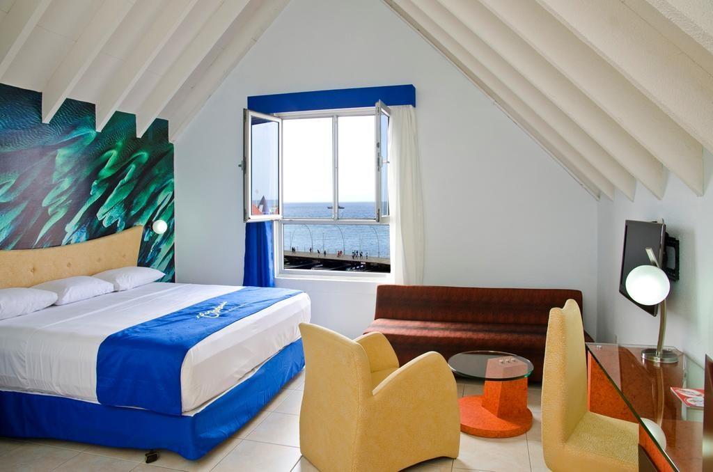 Quarto do Otrobanda Hotel, dica de hotel em Curacao