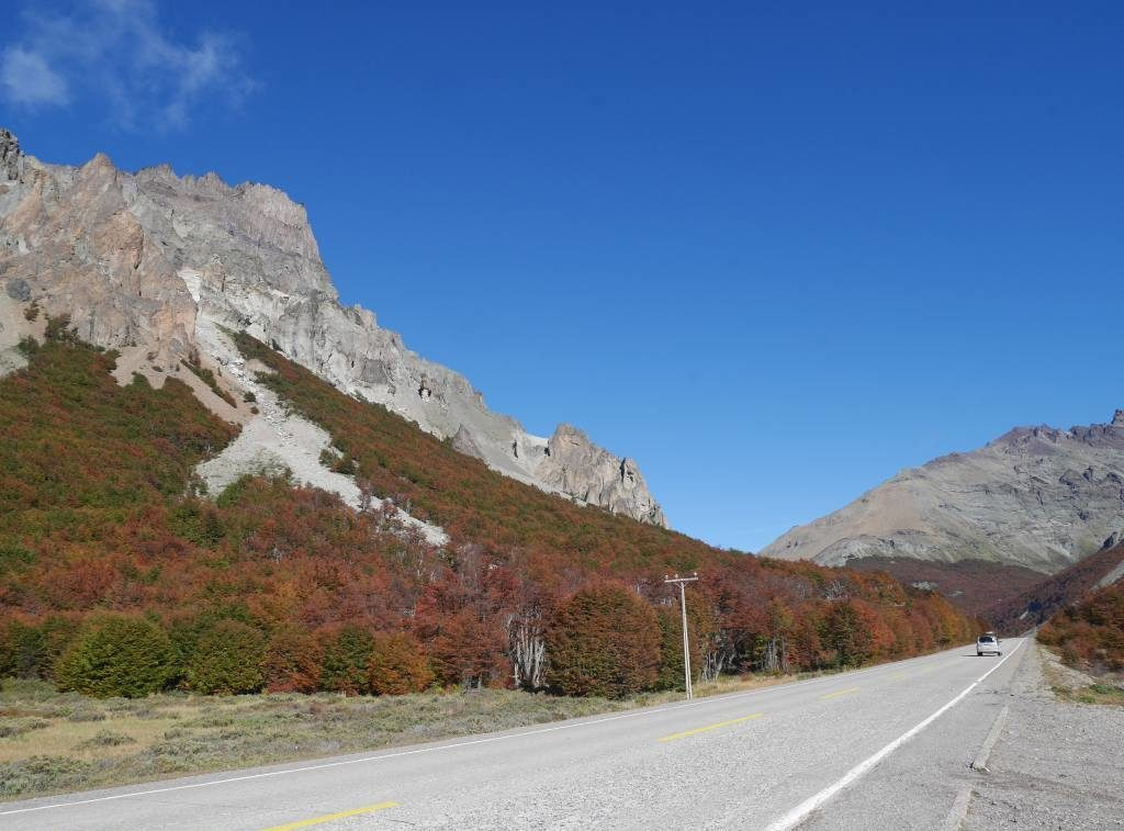 estrada de Aysen, na Patagonia Norte