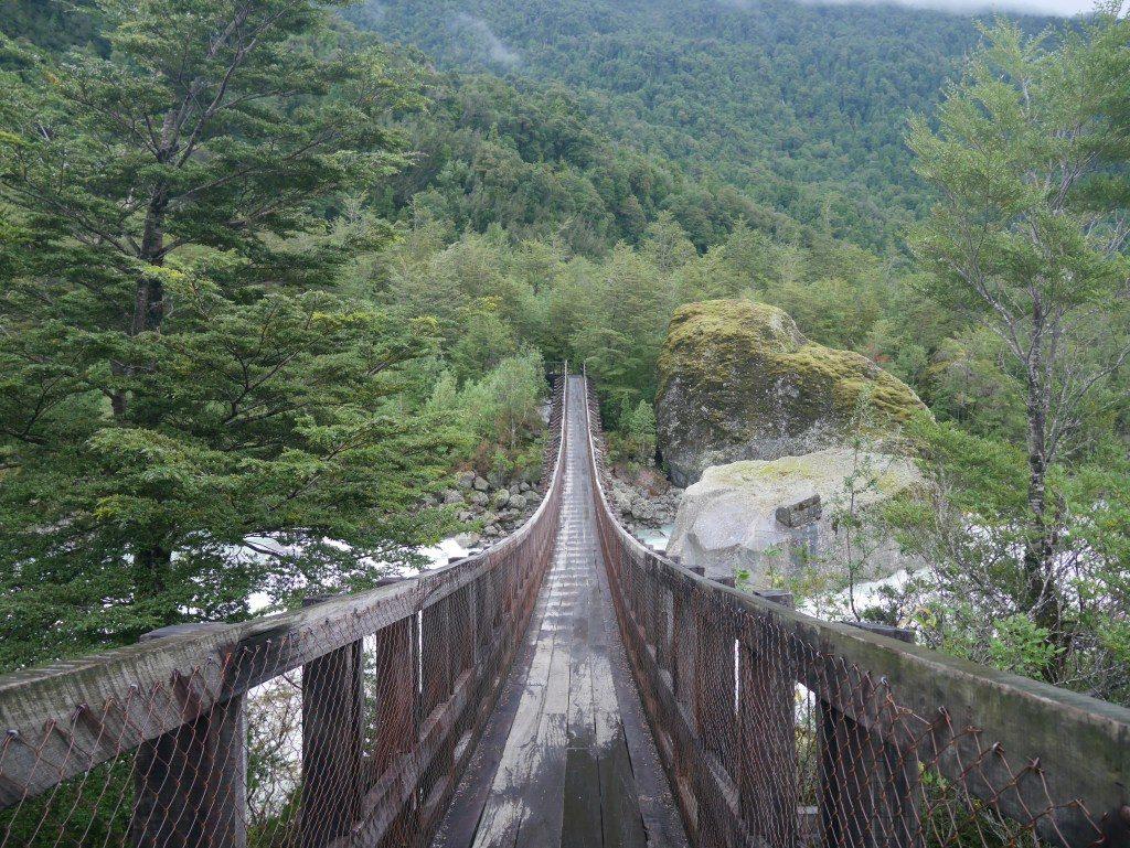 Ponte Pencil na Patagonia Norte, Aysen