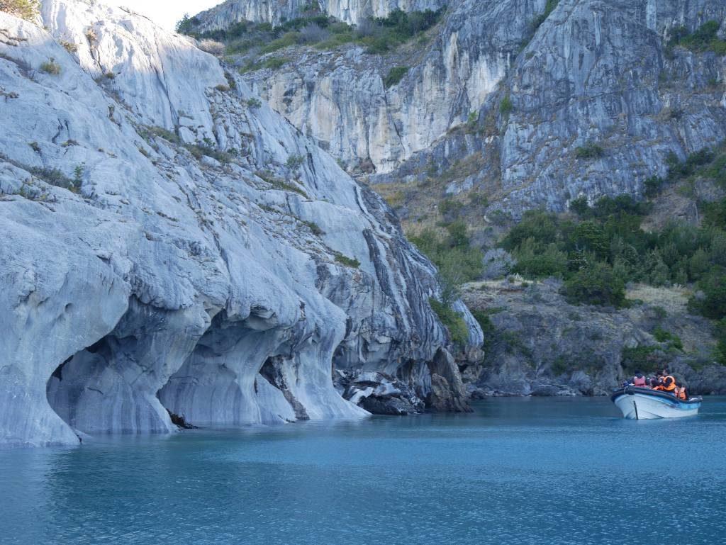 lago general carrera e as capillas de Marmol, an Patagonia Norte