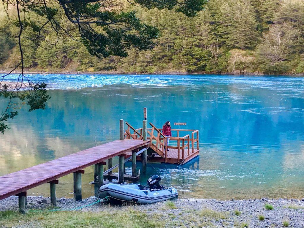 Rio Baker, na Patagonia norte, aysen