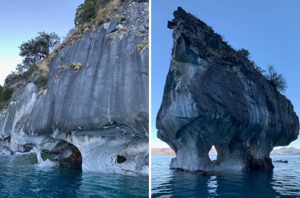 Capillas de Marmol, na Patagonia Norte, Aysen