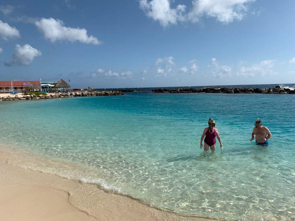 praia da frente do hotel Sunscape-dica-de-hotel-em-curacao