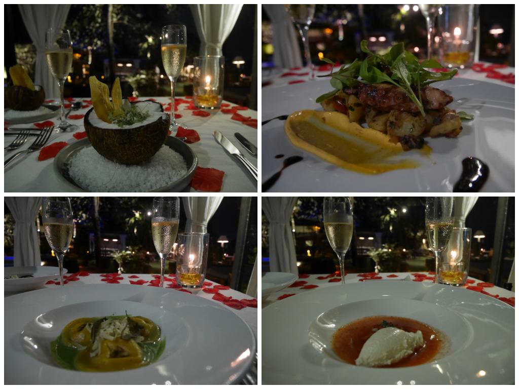 Jantar romantico no Nau Royal, hotel perto de Sao Paulo