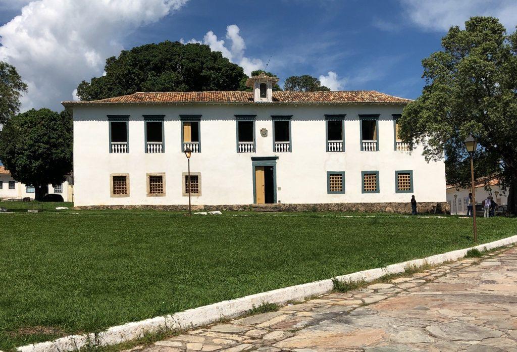 fachada do Museu das Bandeiras em Cidade de Goiás