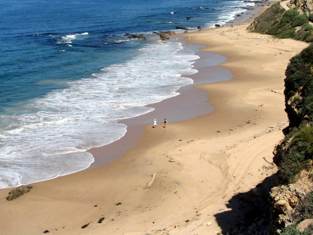 praia de Newport Beach, na California
