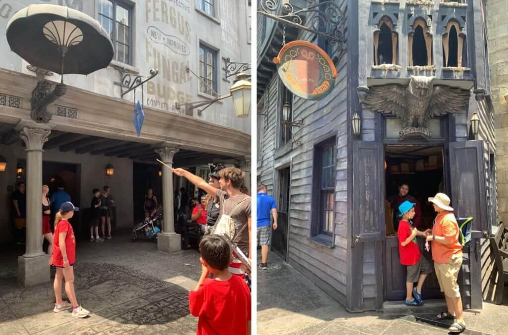 Harry Potter atracoes novas do Universal Orlando