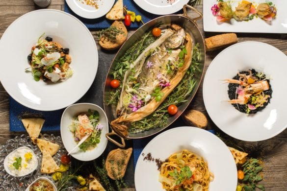 Miami SpiceAtlantikós dishes