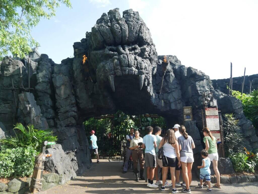 Nova atração no Universal king Kong