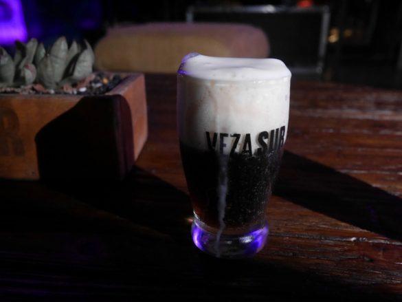 Cerveja da cervejaria Veza Sur, em Miami