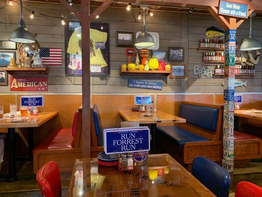 Restaurantes em Miami Bubba Gump