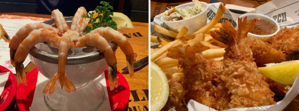 Restaurantes em Miami Bubba Gump side