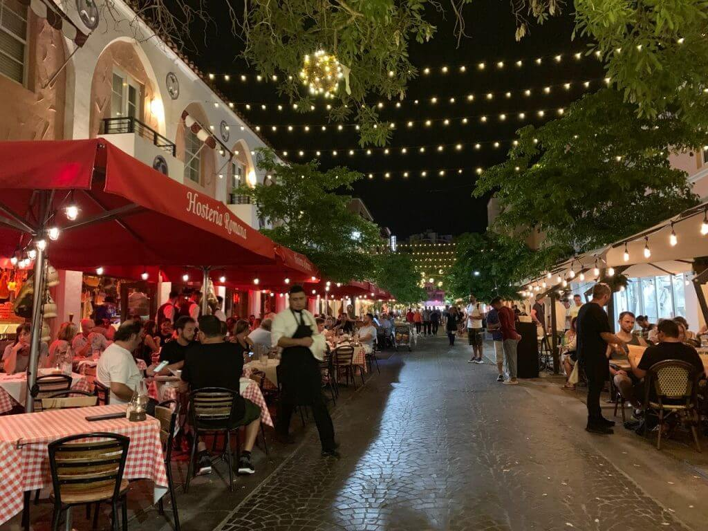 Restaurantes em Miami espanola way