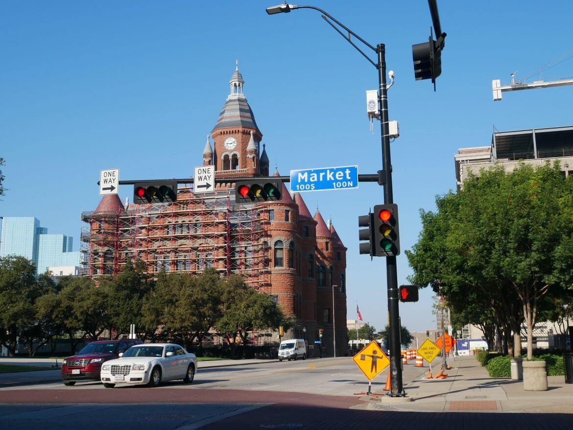 centro de Dallas menor